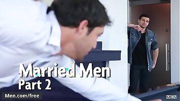 Erik Andrews and Jack King - Married Men Part 2 - Str8 to Gay - Trailer advance showing - Men.com